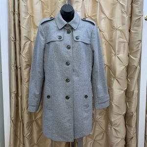 Banana Republic Gray Wool blend coat